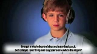 7 Year Old Raps Justin Bieber - Eenie Meenie (Remix)