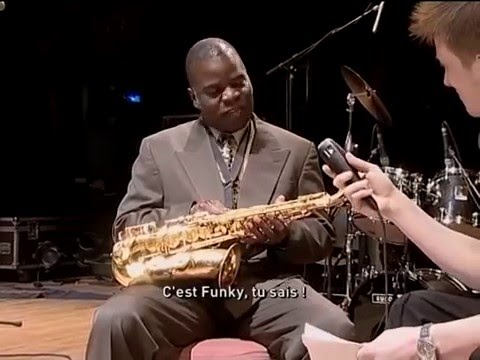 Maceo Parker interview - Paris, May 2000. Pass The Peas + Uptown Up.