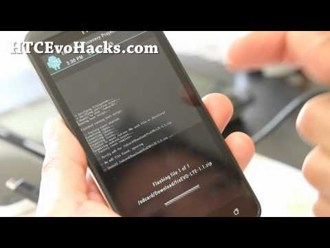 How to Install Custom ROM on Rooted HTC Evo 4G LTE!
