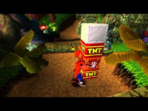 Gameplay - Crash Bandicoot - ePSXe - Fraps Teste