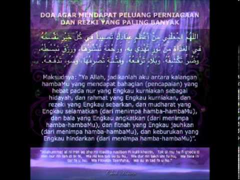 Doa-doa mustajab untuk kekayaan.wmv - YouTube