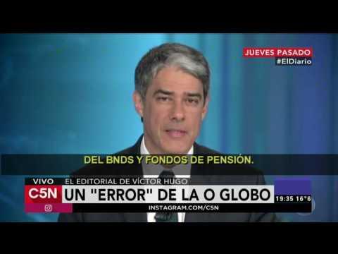 """C5N - El Diario: Un """"error"""" de O Globo"""