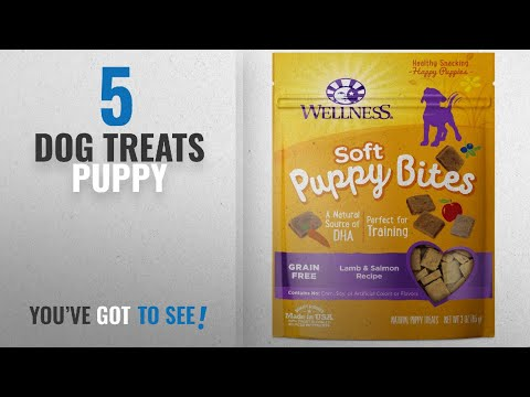 Top 5 Dog Treats Puppy [2018 Best Sellers]: Wellness Soft Puppy Bites Natural Grain Free Puppy