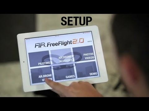 AR.Drone 2.0 Tutorial video #1 : Setup