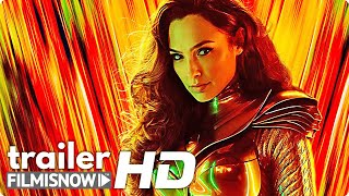 WONDER WOMAN 1984 (2020) Trailer | Gal Gadot back in Action in DC Movie