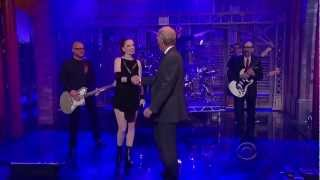 Garbage HD Pro 2013-03-19 David Letterman - Battle In Me