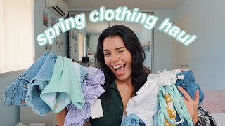 a *super cute* spring clothing haul (try-on)