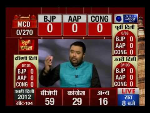 MCD Poll results: Bharatiya Janata Party leads in Delhi with
