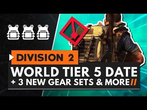 The Division 2: World Tier 5, Tidal Basin, heroic difficulty, more