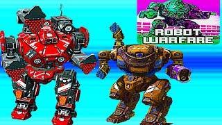 ROBOTS WARFARE- НОВЫЕ РОБОТЫ КАК WAR ROBOTS РОБОТ PREDATOR онлайн для андроид потрясающей графикой