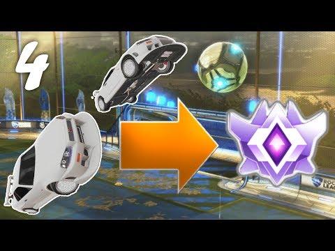 WHITE SKYLINE | Freestyle to Grand Champion EP4 (Rocket League) thumbnail