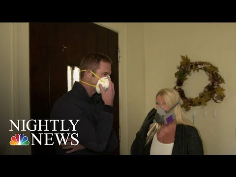 Military Families Sue Private Housing Developers Over Health Hazards On Base   NBC Nightly News