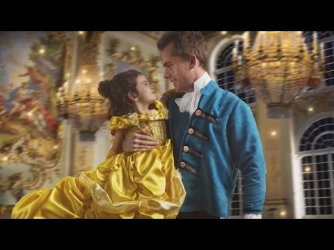 Thumbnail: Dad Gifts Daughter Surprise 'Beauty and the Beast' Photo Shoot
