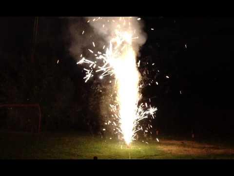 Canada Day Fireworks 2012 Bunda Farm, Ottawa