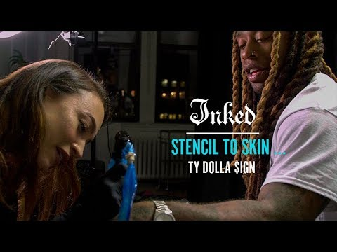 Ty Dolla $ign's New Tattoo | INKED