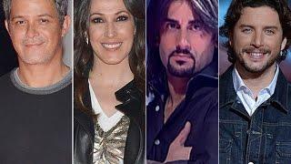 La VOZ (2016ESPAÑA)Alejandro Sanz, Malú, Melendi y Manuel Carrasco,