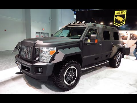 Offroad luxury vehicle by USSV :SEMA 2015