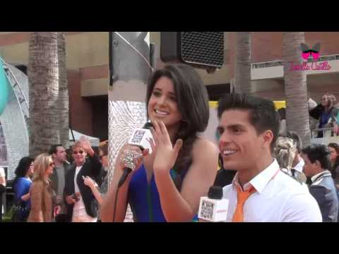 Isabella Castillo en Nickelodeon Kids Choice Awards 2012