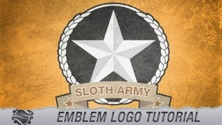 Tutorial - Emblem Style Logo/Design - Slothwerx Designs