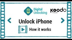 Unlock any iPhone Koodo Canada under 48 hours by using IMEI