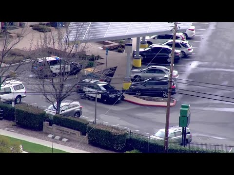 Raw Video: Police At Livermore High School Following Stabbing