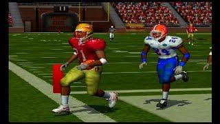 NCAA Football 2004 - Florida vs. Florida State *Gameplay* [PS2]
