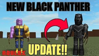 BECOMING THE BLACK PANTHER!! | ROBLOX SUPER HERO TYCOON