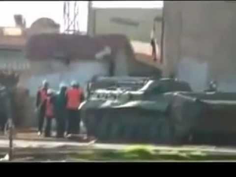Syria Army Tanks Still Occupy Homs City
