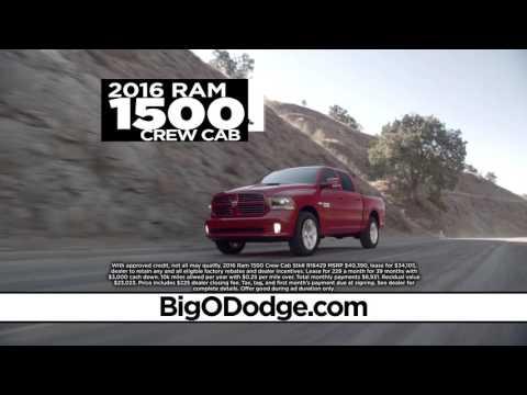 Huge Savings at the Big O Dodge Black Friday Sales Event!