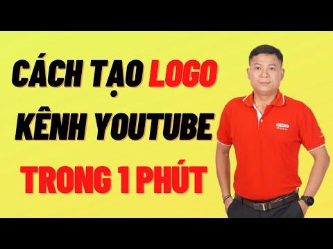 Cách tạo lập Logo kênh Youtube thương hiệu dễ dàng trong 1 phút