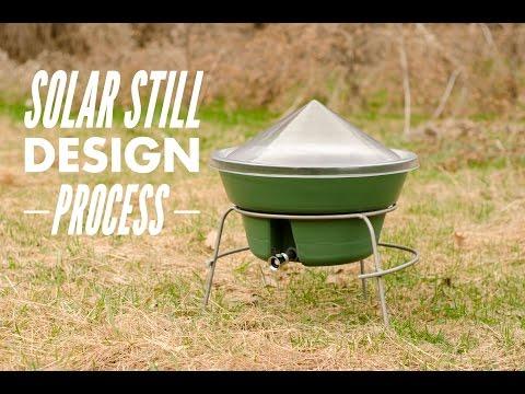 Solar Still Design Process