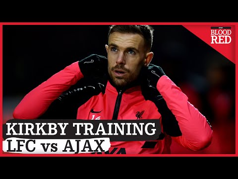 Liverpool Train Ahead of Ajax Clash | VIDEO | Henderson, Matip, Salah | Open Training