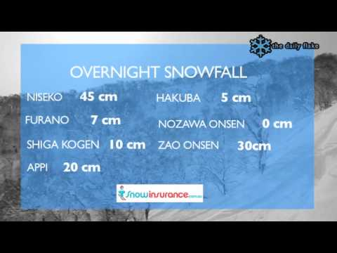 Japan Snow Report - The Daily Flake 1 Feb 2011