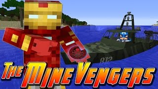 Minecraft MineVengers - HUNTING DOWN RED SKULL!!