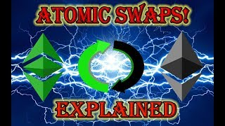 ATOMIC SWAPS For Ethereum | NEO | Ethereum Classic - 100% POSSIBLE