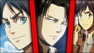 WHICH ATTACK ON TITAN CHARACTER ARE YOU ?