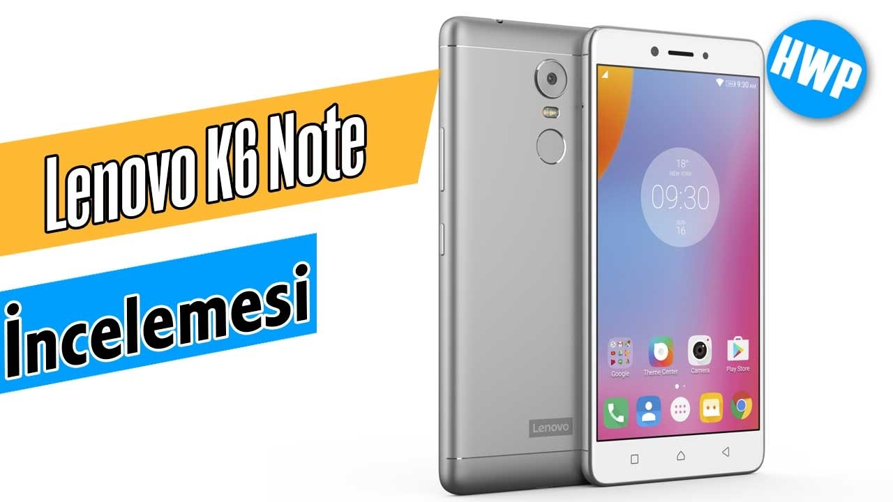 Lenovo K6 Note Ncelemesi Youtube Power 3 32gb Resmi