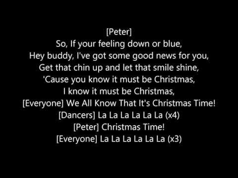 It Must be Christmas Time (Lyrics) From Deck'd (2009)