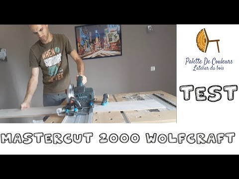 Wolfcraft: Tutoriel mastercut 2000