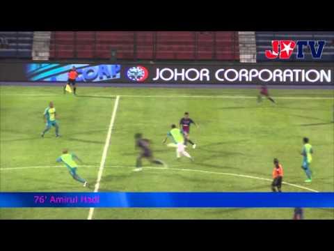 Pilihan TMJ  vs Pilihan Johor FA (Charity Match) Game Highlight  26 Feb 2014