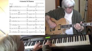 A Weaver Of Dreams - Jazz guitar & piano cover ( Victor Young ) Yvan Jacques