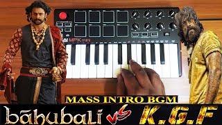 Bahubali vs KGF | Mass Intro Scene Bgm By Raj Bharath | Prabhas | Yash | M.M.Keeravani | Ravi Basrur