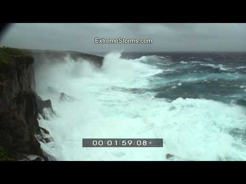 Super Typhoon Melor - Banzai Cliff Saipan