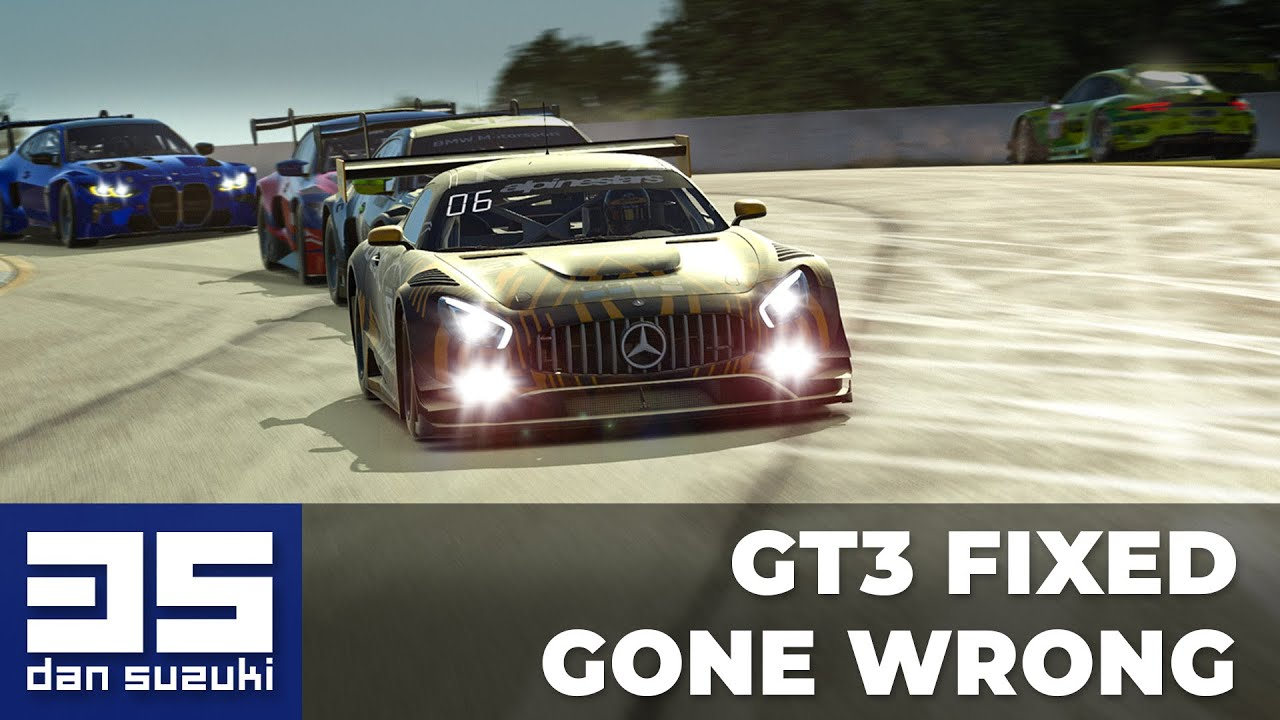 GT3 Fixed gone wrong | Mercedes AMG GT3 @ Road Atlanta | iRacing