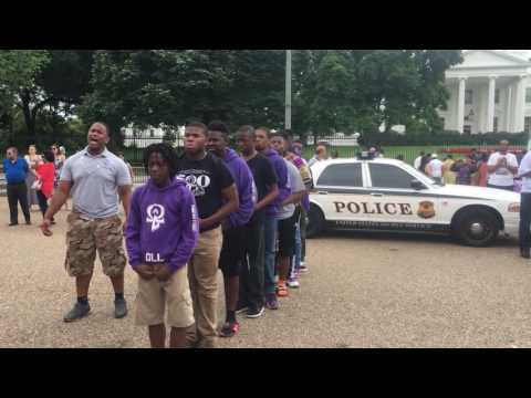 Omega Lamplighters - Perform In Front Of The White House 2016
