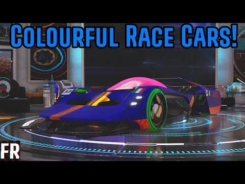 Xenon Racer - Colourful Race Cars! Mp3