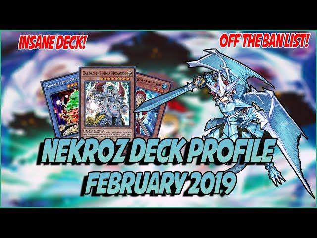 YuGiOh! *COMPETITIVE* In-Depth Nekroz Deck Profile! Post Savage Strike! New Forbidden List!