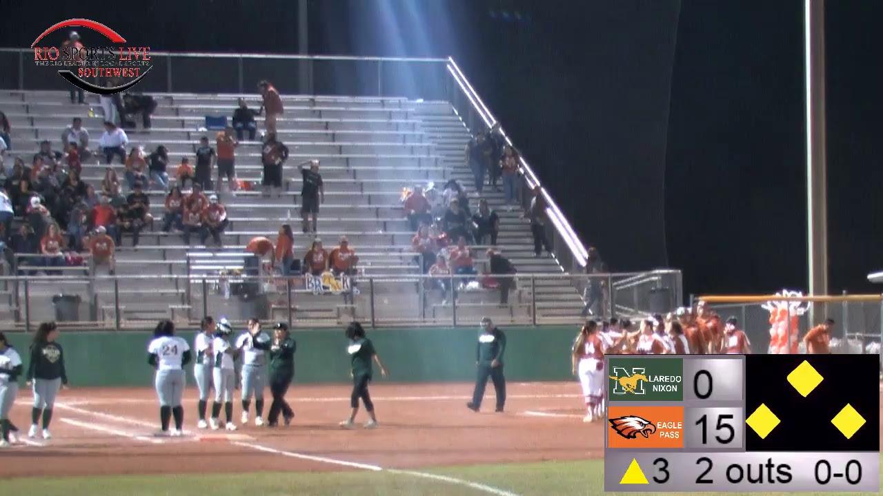 Laredo Nixon VS Eagle Pass Softball Game (4-5-19) - YouTube