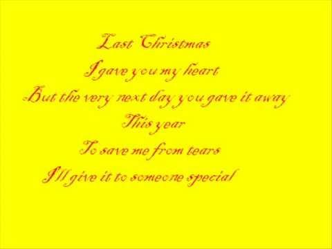 Hilary Duff - Last Christmas (with lyrics)