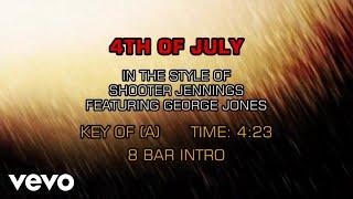 Shooter Jennings - 4th Of July (Karaoke)